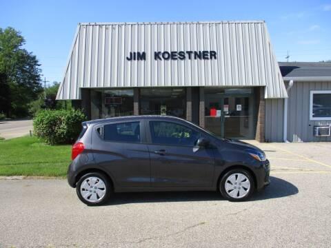 2016 Chevrolet Spark for sale at JIM KOESTNER INC in Plainwell MI
