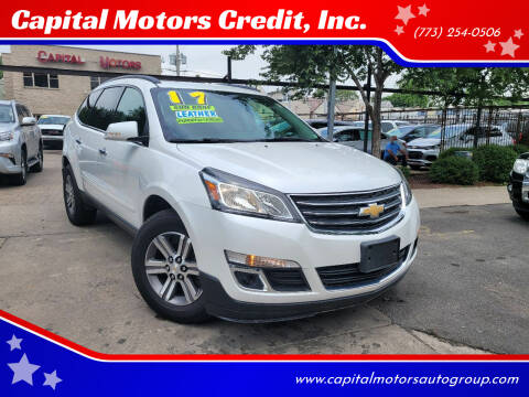 2017 Chevrolet Traverse for sale at Capital Motors Credit, Inc. in Chicago IL