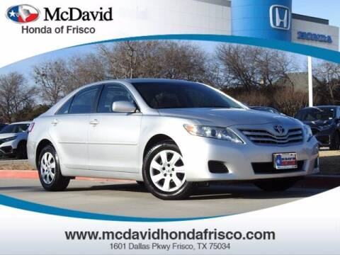 2011 Toyota Camry for sale at DAVID McDAVID HONDA OF IRVING in Irving TX