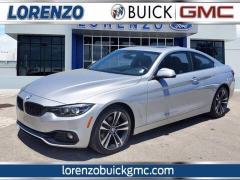 2020 BMW 4 Series for sale at Lorenzo Buick GMC in Miami FL