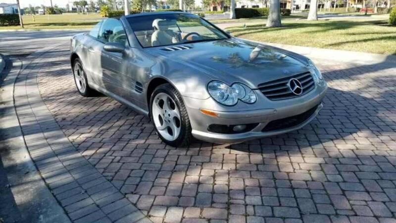2004 Mercedes-Benz SL-Class for sale at World Champions Auto Inc in Cape Coral FL