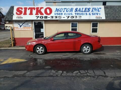 2008 Pontiac Grand Prix for sale at SITKO MOTOR SALES INC in Cedar Lake IN