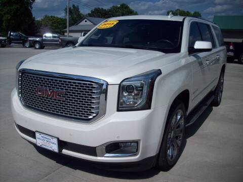 2015 GMC Yukon XL for sale at Nemaha Valley Motors in Seneca KS