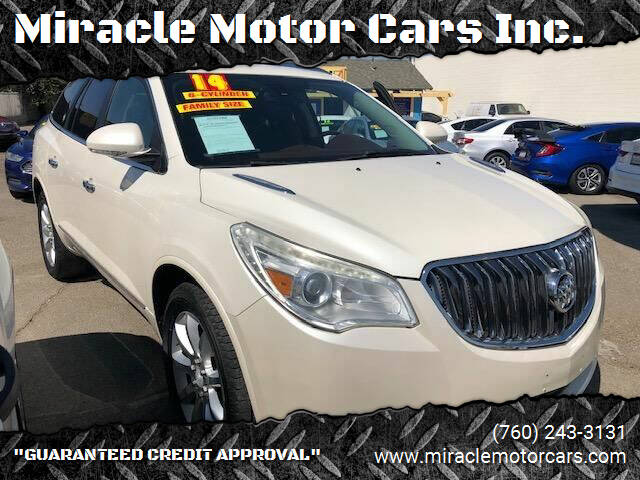 2014 Buick Enclave for sale at Miracle Motor Cars Inc. in Victorville CA
