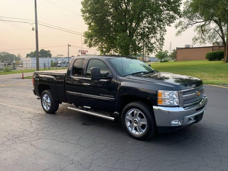 2013 Chevrolet Silverado 1500 for sale at Dittmar Auto Dealer LLC in Dayton OH