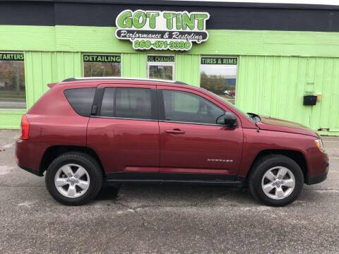 2013 Jeep Compass for sale at GOT TINT AUTOMOTIVE SUPERSTORE in Fort Wayne IN