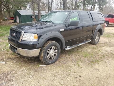 2006 Ford F-150 for sale at Northwoods Auto & Truck Sales in Machesney Park IL
