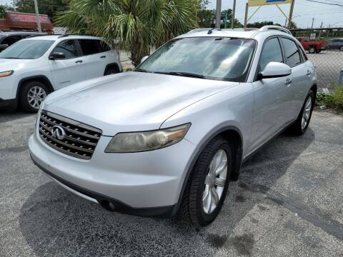 2007 Infiniti FX35 for sale at Castle Used Cars in Jacksonville FL
