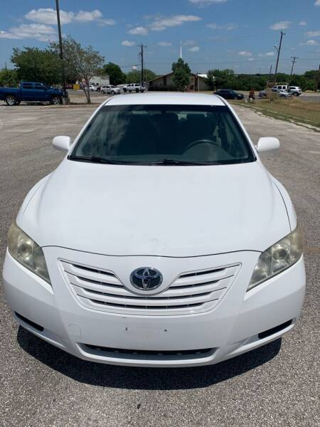 2007 Toyota Camry for sale at AUTOS MY HOBBY in Converse TX