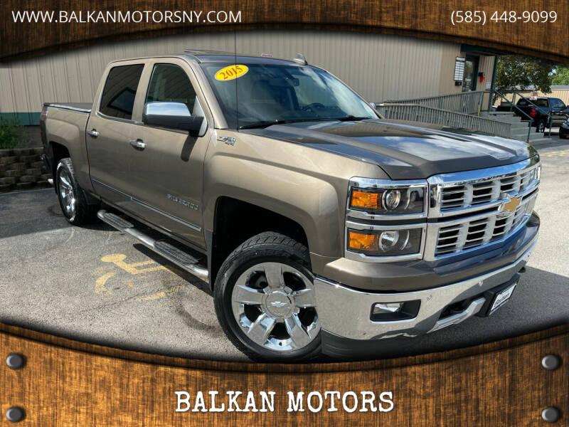 2015 Chevrolet Silverado 1500 for sale at BALKAN MOTORS in East Rochester NY