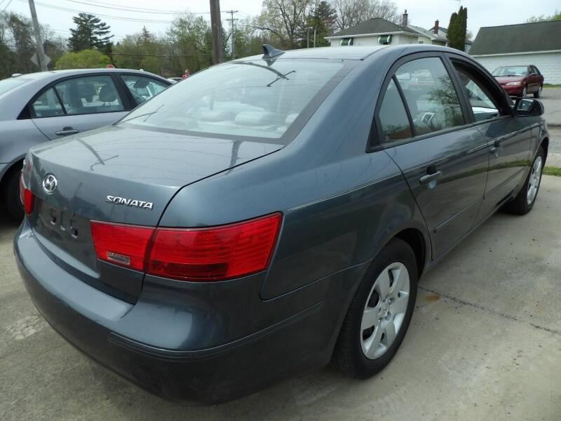 2010 Hyundai Sonata for sale at English Autos in Grove City PA