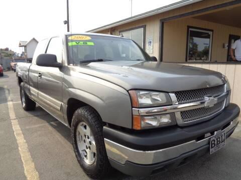 2007 Chevrolet Silverado 1500 Classic for sale at BBL Auto Sales in Yakima WA