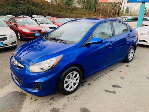 2014 Hyundai Accent for sale at Sport Motive Auto Sales in Seattle WA