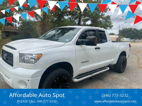 2007 Toyota Tundra for sale at Affordable Auto Spot in Houston TX