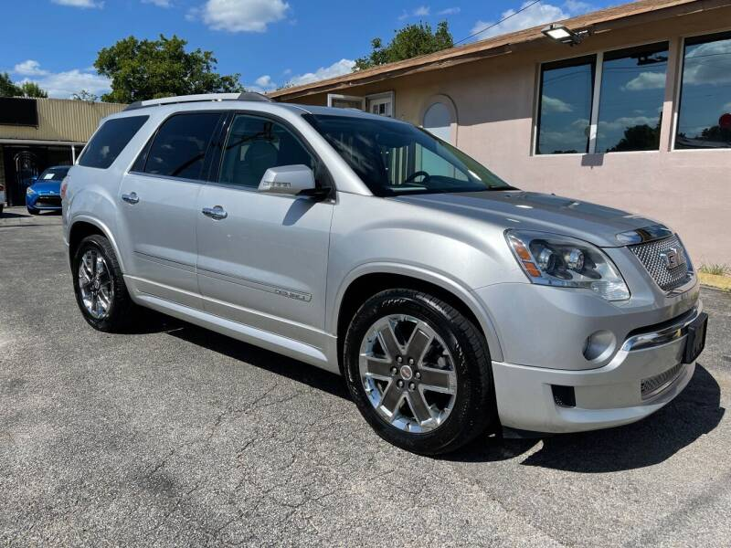 2012 GMC Acadia for sale at Auto A to Z / General McMullen in San Antonio TX
