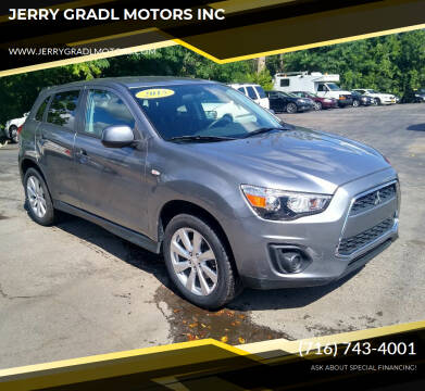 2015 Mitsubishi Outlander Sport for sale at JERRY GRADL MOTORS INC in North Tonawanda NY