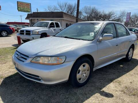 2001 Honda Accord for sale at Texas Select Autos LLC in Mckinney TX