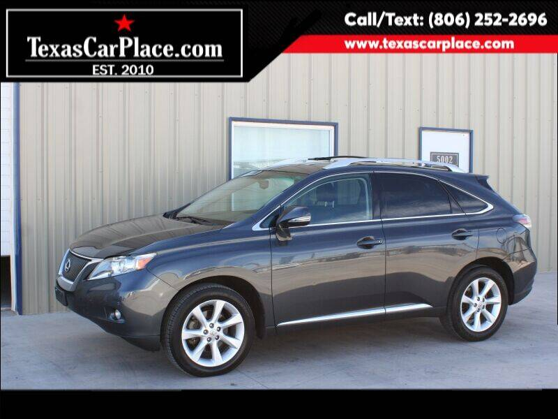2010 Lexus RX 350 for sale at TEXAS CAR PLACE in Lubbock TX
