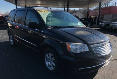2011 Chrysler Town and Country for sale at GABBY'S AUTO SALES in Valparaiso IN