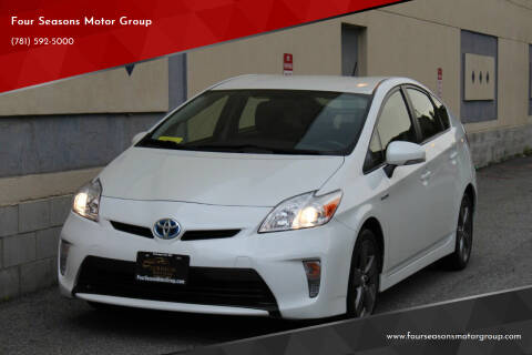 2015 Toyota Prius for sale at Four Seasons Motor Group in Swampscott MA