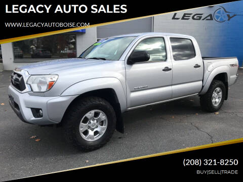 2013 Toyota Tacoma for sale at LEGACY AUTO SALES in Boise ID