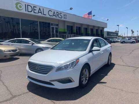 2015 Hyundai Sonata for sale at Ideal Cars East Mesa in Mesa AZ