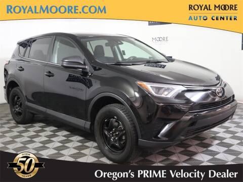 2018 Toyota RAV4 for sale at Royal Moore Custom Finance in Hillsboro OR