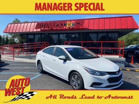 2018 Chevrolet Cruze for sale at Autowest of GR in Grand Rapids MI