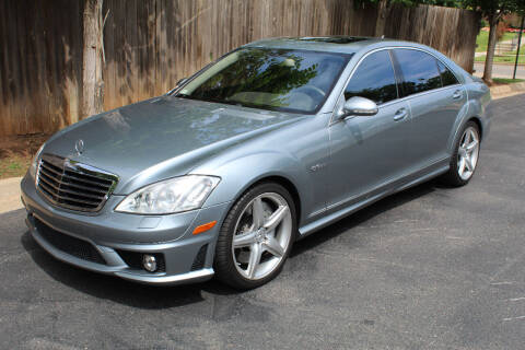 2008 Mercedes-Benz S-Class for sale at CANTWEIGHT CLASSICS in Maysville OK