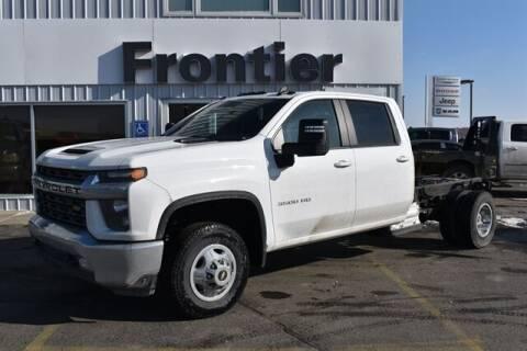 2020 Chevrolet Silverado 3500HD CC for sale at Frontier Motors Automotive, Inc. in Winner SD