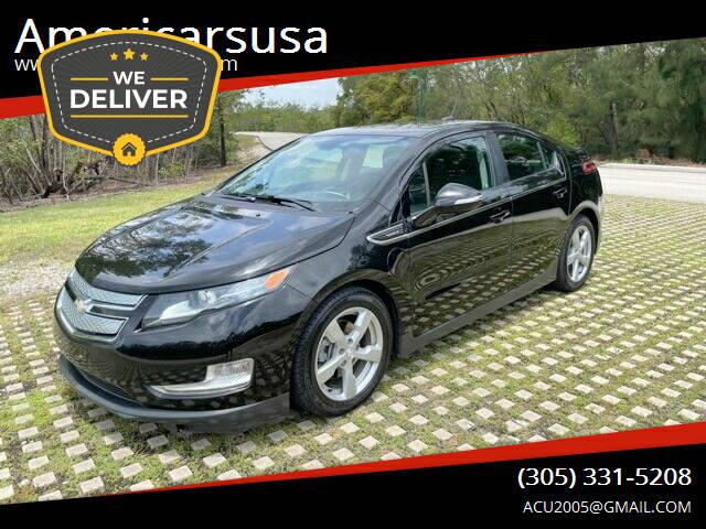 2013 Chevrolet Volt for sale at Americarsusa in Hollywood FL