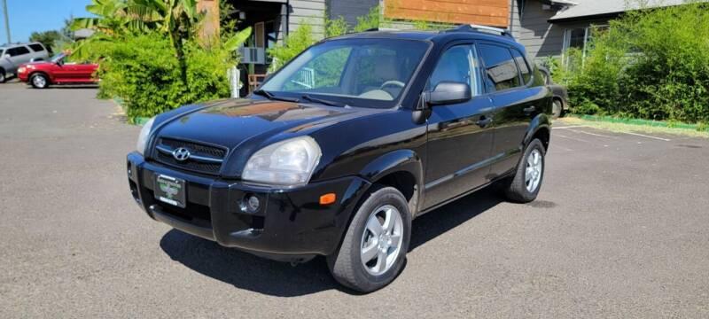 2007 Hyundai Tucson for sale at Persian Motors in Cornelius OR