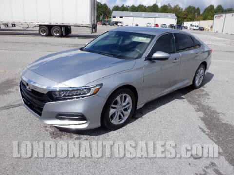 2019 Honda Accord for sale at London Auto Sales LLC in London KY