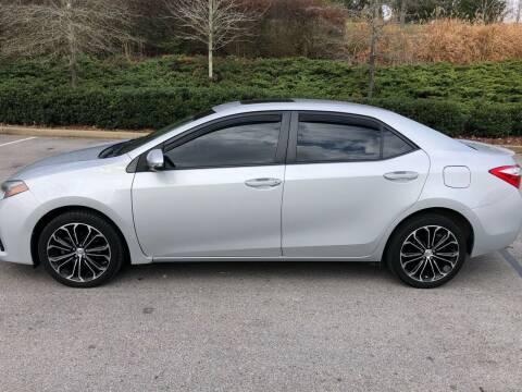 2015 Toyota Corolla for sale at Ron's Auto Sales (DBA Select Automotive) in Lebanon TN