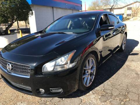 2011 Nissan Maxima for sale at Affordable Auto Sales in Dallas TX