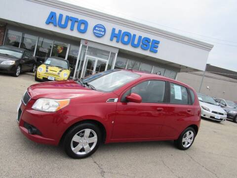 2010 Chevrolet Aveo for sale at Auto House Motors in Downers Grove IL