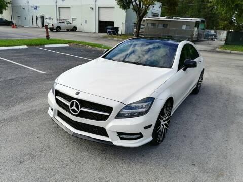 2012 Mercedes-Benz CLS for sale at Best Price Car Dealer in Hallandale Beach FL