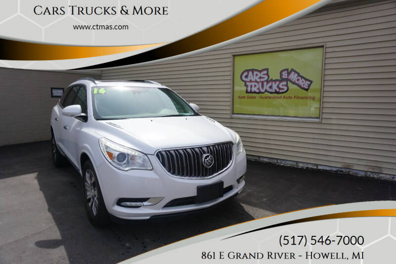2016 Buick Enclave for sale at Cars Trucks & More in Howell MI