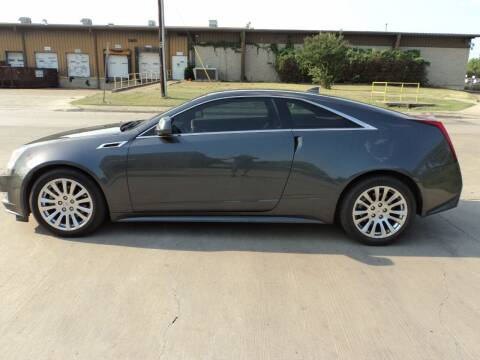 2011 Cadillac CTS for sale at SPORT CITY MOTORS in Dallas TX