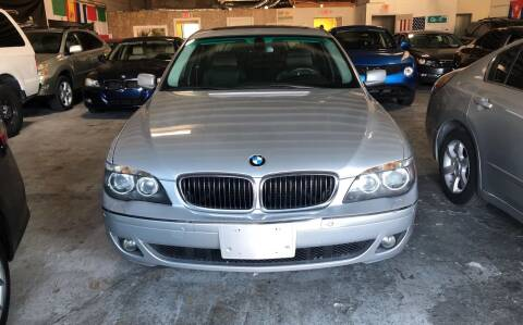 2007 BMW 7 Series for sale at Auto Credit & Finance Corp. in Miami FL