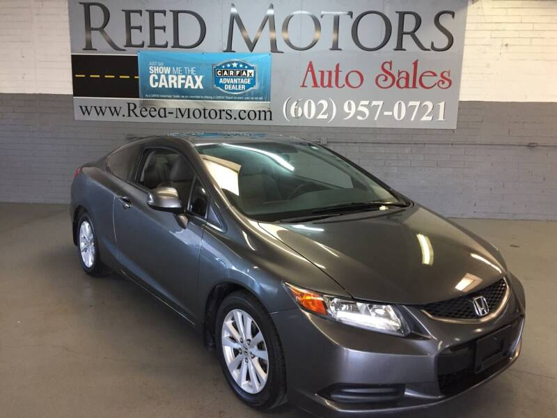 2012 Honda Civic for sale at REED MOTORS LLC in Phoenix AZ