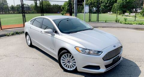 2015 Ford Fusion Hybrid for sale at Maxima Auto Sales in Malden MA