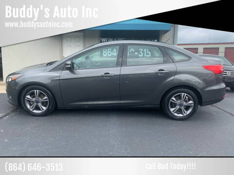 2017 Ford Focus for sale at Buddy's Auto Inc in Pendleton, SC
