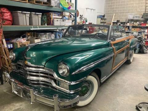 1949 Chrysler Town and Country for sale at Classic Car Deals in Cadillac MI