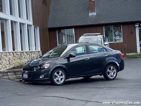 2015 Chevrolet Sonic for sale at Cupples Car Company in Belmont NH