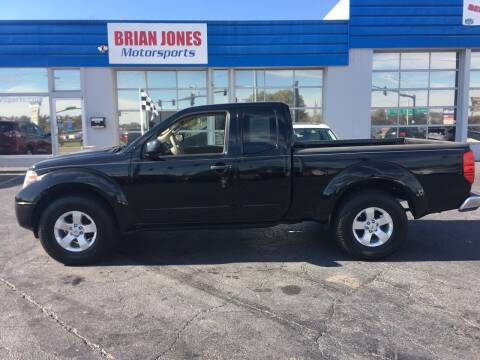 2012 Nissan Frontier for sale at Brian Jones Motorsports Inc in Danville VA
