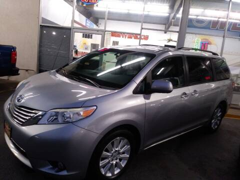 2012 Toyota Sienna for sale at EL SOL AUTO MART in Franklin Park IL