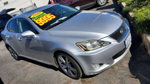 2010 Lexus IS 250 for sale at Oxnard Auto Brokers in Oxnard CA
