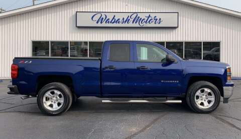 2014 Chevrolet Silverado 1500 for sale at Wabash Motors in Terre Haute IN