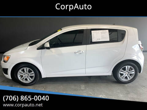 2012 Chevrolet Sonic for sale at CorpAuto in Cleveland GA